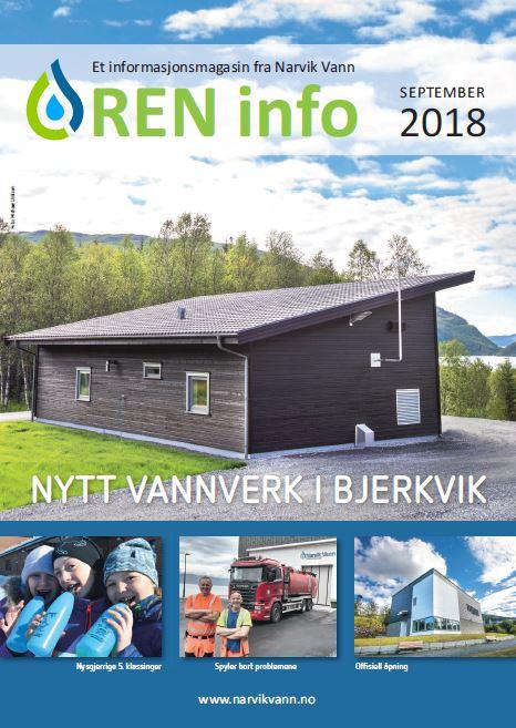 Ny utgave av REN info 2018