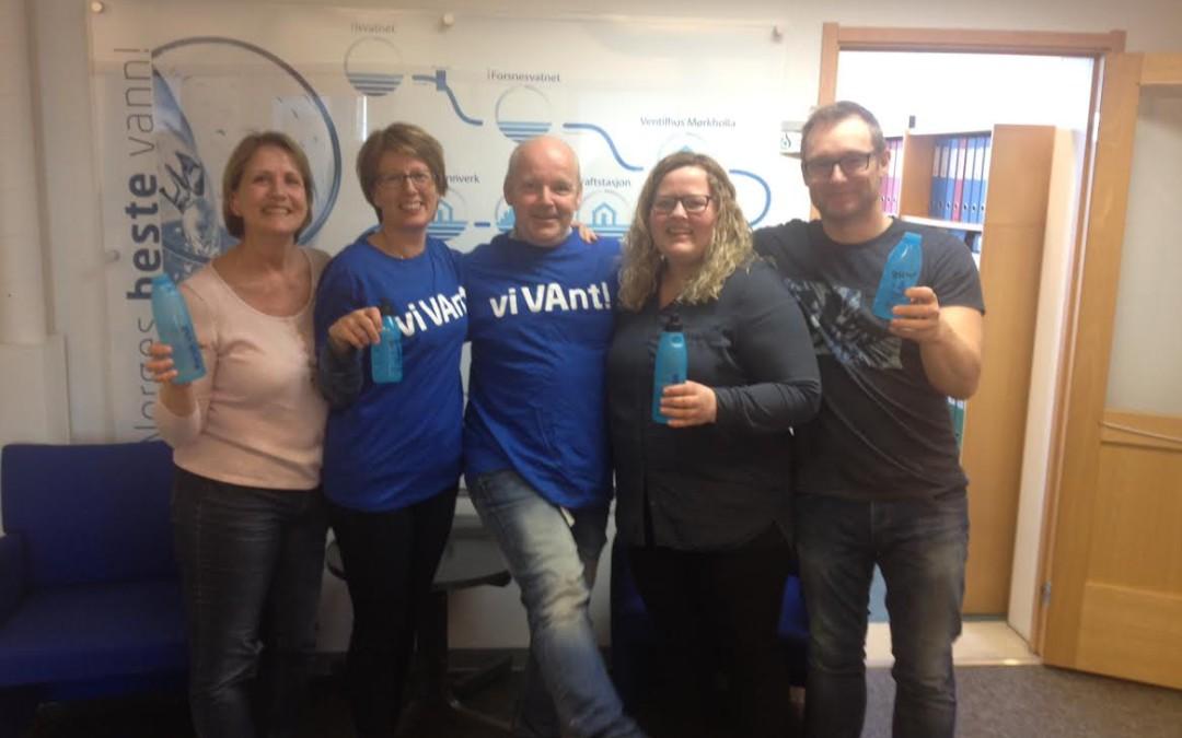 Narvik vant konkurransen Norges beste drikkevann 2016
