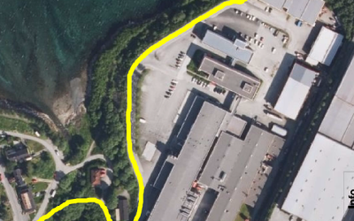 Omlegging av tursti, Taraldsvik – Ornesvika