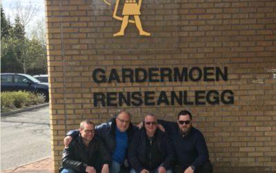 Narvik Vann besøker Gardermoen renseanlegg