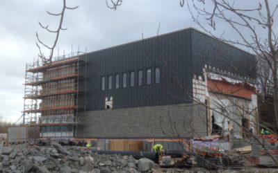 Narvik avløpsrenseanlegg – status mai 2017