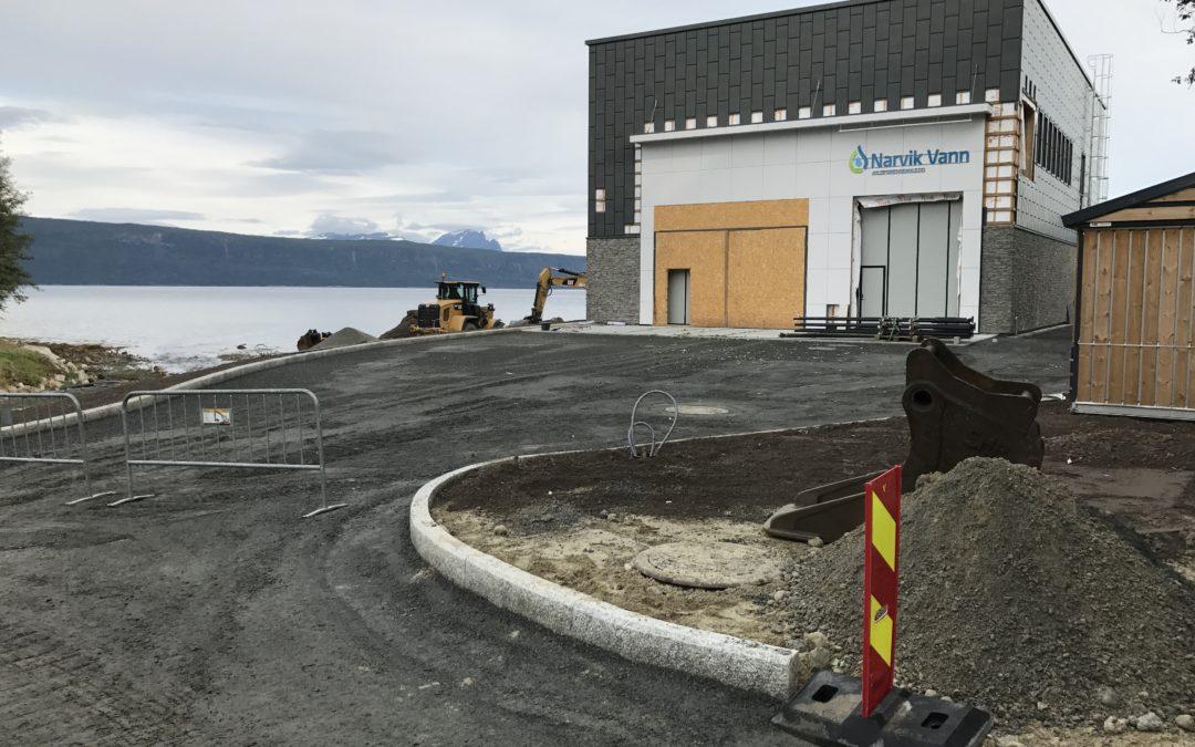 Narvik avløpsrenseanlegg – status august