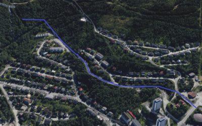I henhold til Saneringsplan vann Narvik, skal vannledningene i Fosseveien saneres.