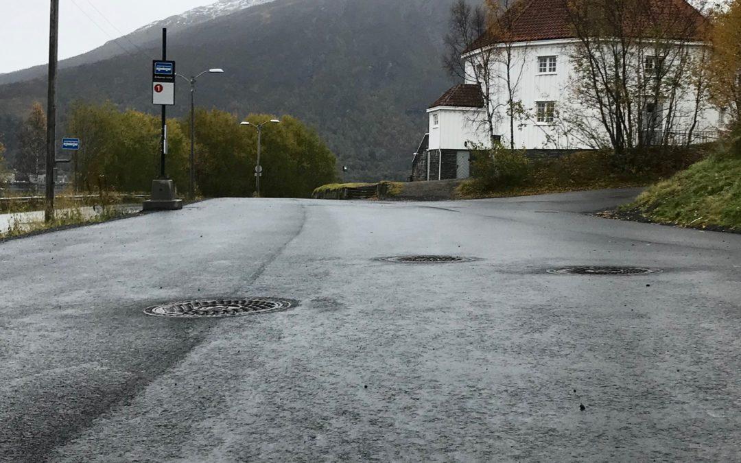 Status prosjekt: utskifting av vann- og avløpsledninger i Ankenesveien.