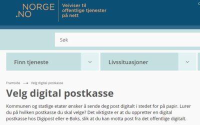 Nå sender Narvik Vann alle brev i digital postkasse.
