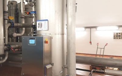 Oppstart av oppgradering av vannprosess ved Djupvik vannbehandlingsanlegg