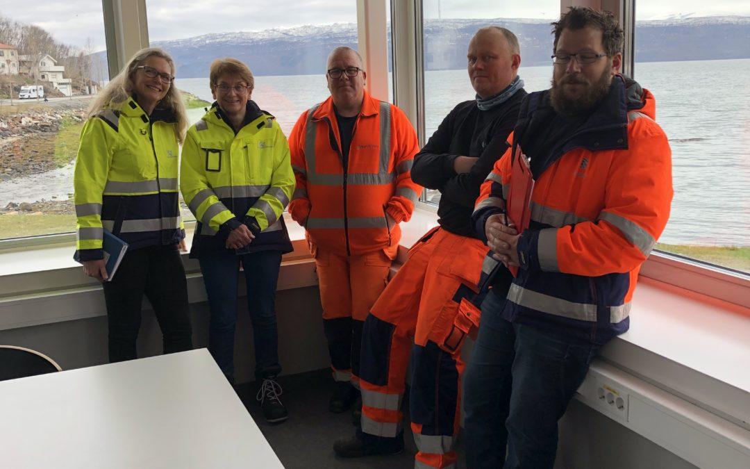 Første vernerunde gjennomført på Narvik avløpsrenseanlegg