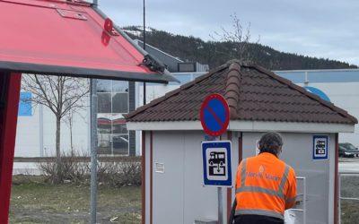 Tømmestasjon for bobil og campingvogn er klar til ny sesong